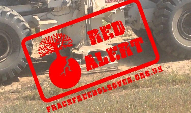Seismic Survey Red Alert